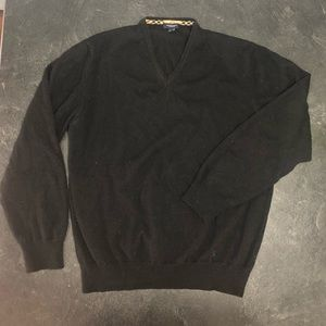 Auth Burberry wool sweater